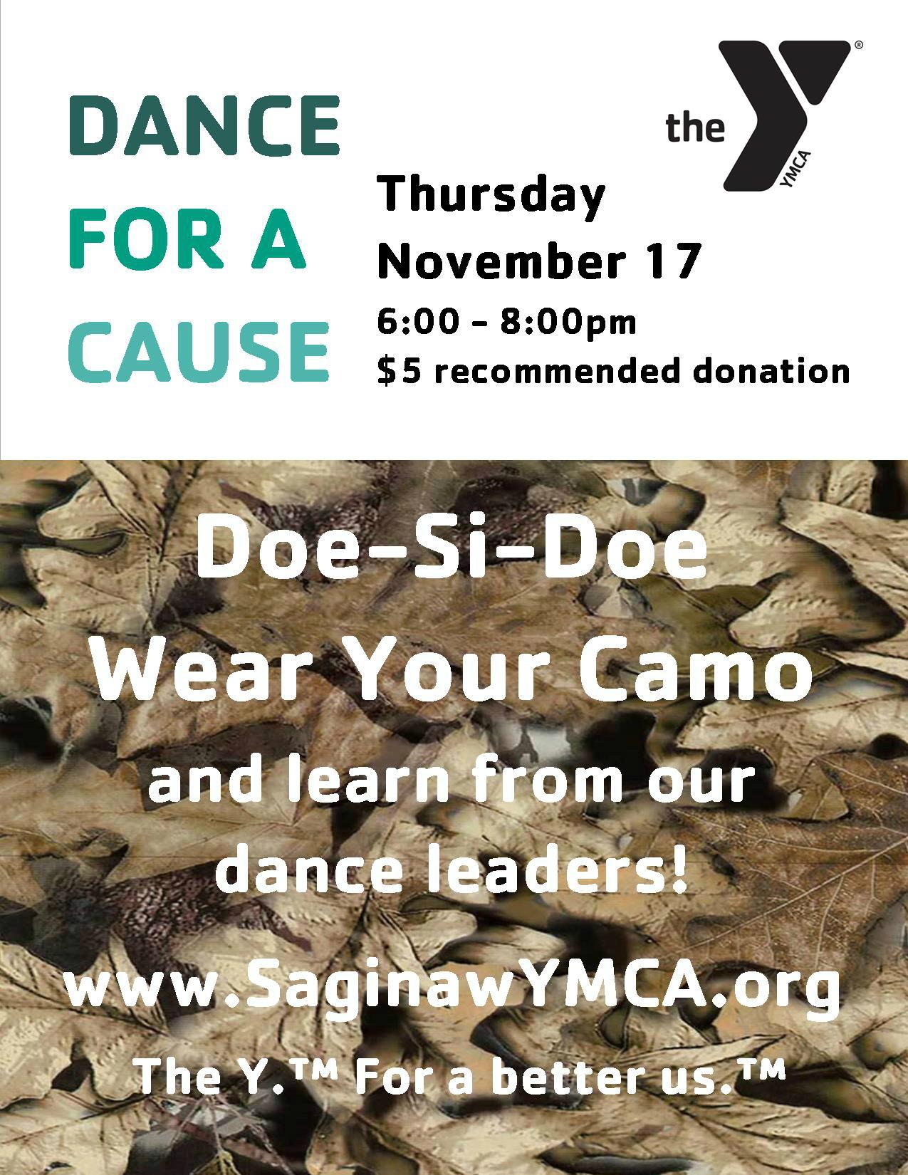 Dance - Deer Widows @ Saginaw YMCA Field House