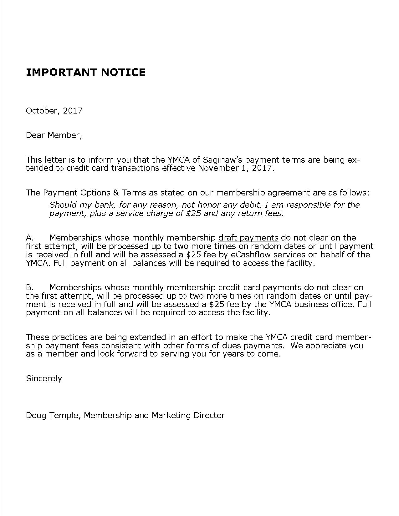 pay agreement letter