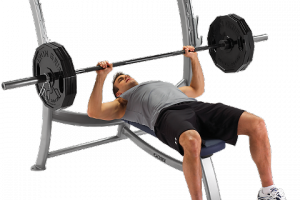Weight lifting - bench press