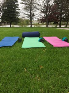 Yoga - Outdoors at the Y Tues, June 6 - June 27 @ YMCA - near outdoor track