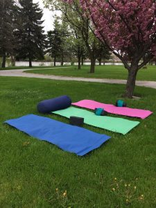 Yoga - Outdoors at the Y Tues, July 11-Aug 1 @ YMCA - near outdoor track