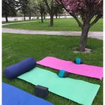Yoga - Outdoors at Andersen Enrichment Wed, June 6 - 27 @ Andersen Enrichment in Saginaw, MI | Saginaw | Michigan | United States