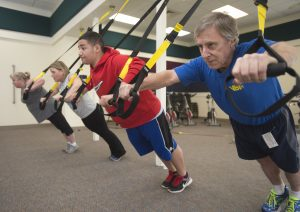 TRX - Tues - fitness class @ Health Enhancement Room